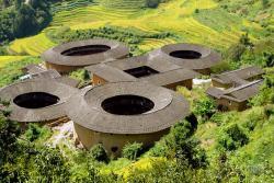 Hakka's Earthen Buildings